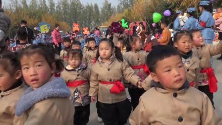 武陟县圪垱店乡安庄成长幼儿园 2019军民大生产 大型亲子运动会