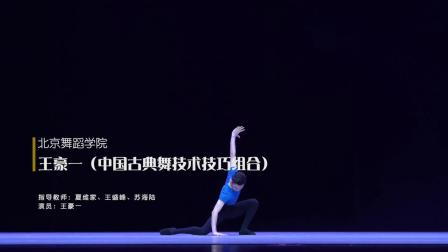 12桃 BDA 王豪一 古典舞技术技巧组合