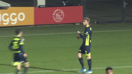 荷乙第15轮补赛比赛集锦:阿贾克斯预备队 - 赫尔蒙德体育