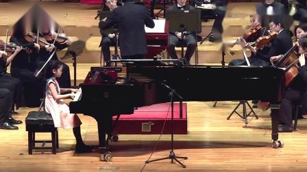 铃木教学法-莫扎特第12号钢琴协奏曲  第3乐章 -王  元貞 9岁