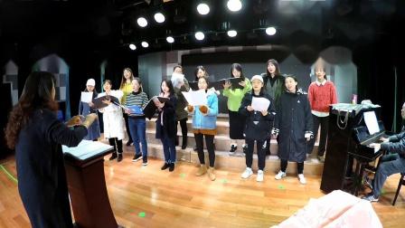 女声合唱《匆匆那年》陈一新编曲,宋媛指挥,湖南羽乐女子合唱团排练,191126