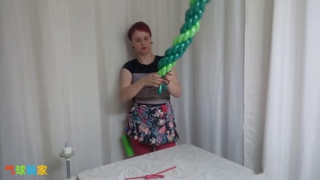 气球玩家气球造型教程-麻花圈(S0420002)