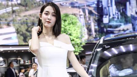 陳婉萍pinky 2019 廣州國際車展 廣汽新能源 車展美模