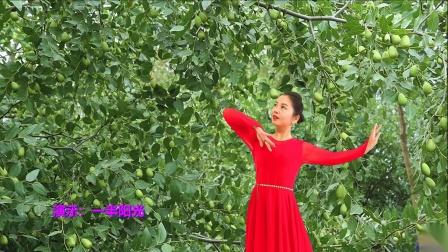 一半阳光广场舞队个人版《红枣树》编舞;雨夜 演绎:一半阳光