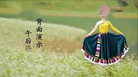羊卓湖情歌-午后骄阳藏族舞《羊卓湖情歌》背面附口令教学-