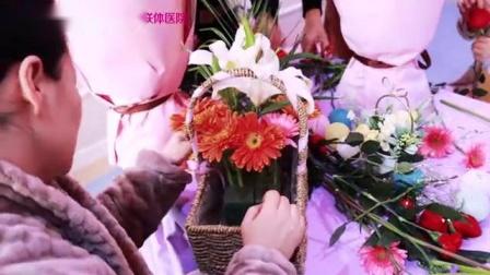济宁红房子妇产医院精致产后花艺课放松身心修身养性