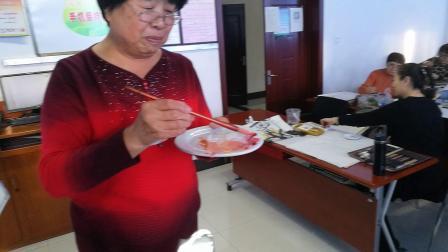 王老师写意花鸟中级: 绶带鸟与寿桃的画法1