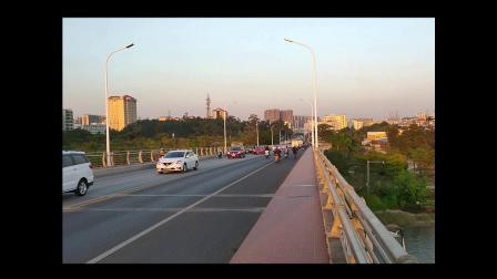 黄楊河的夕陽