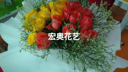 北京宏奥 插花培训学校 插花学校 插花学校哪家好 最好的插花培训学校