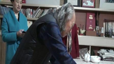 书画艺术家周明智话说国画墨牡丹