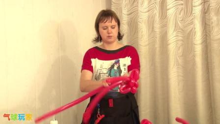气球玩家气球造型教程-气球花(S0420010)
