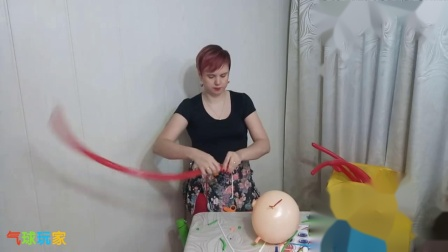 气球玩家气球造型教程-美人鱼(L0420013)