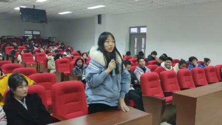 中华志愿者-防灾科技学院志愿者团队送福到万家