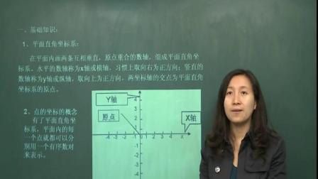 初中数学平面直角坐标系中考知识点讲解打好功底学会灵活运用