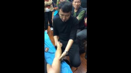 中医推拿学习 王文浩手法治疗膝关节滑膜炎