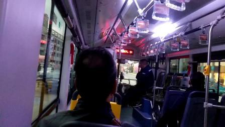 宁波公交346路 公交联勤站→镇海民服中心 346→半路京亭 比亚迪电动客车K8 57124