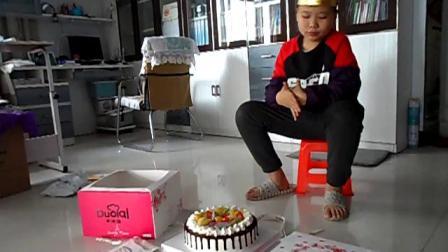 191109李昀朔猪入冬十二岁生日蛋糕