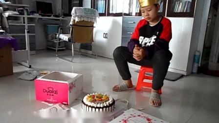 191109李昀朔猪入冬十二岁生日蛋糕前景