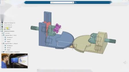 CATIA机械动画