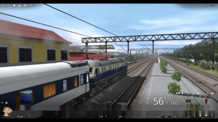 京沪线T7786次列车上海南-昆山段机车视角