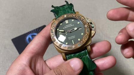 老K谈表:青铜沛纳海382破坏性改装实物评测