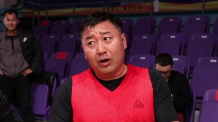 2019阜新市领导干部篮球赛 阜蒙县代表队队员球场风采