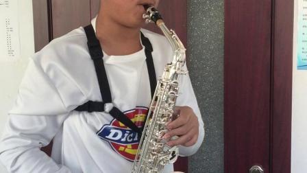 李多萨克斯演奏《中国音乐学院三级练习曲》