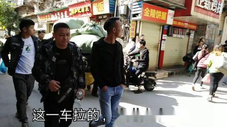 广州沙河服装市场有多火?看门口的人拉货的人就知道了,人山人海