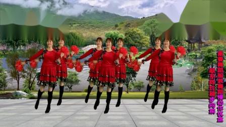 稳步向前广场舞《把你的人生交给主掌管》原创视频