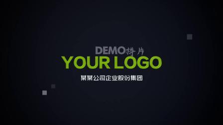 ae片头 pr模板 1450 震撼大气多图片汇聚照片墙图片墙展示企业LOGO动画开场片头AE模板 宣传片 年会视频