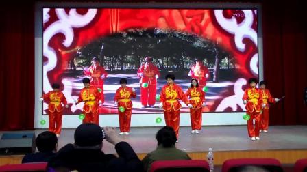 通辽市经济开发区空竹队参加市社会体育指导员技能展示大会