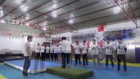 贵州跆拳道特技腿法