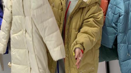 江南部落系列新款棉衣厂家直销女装一手货源批发走份