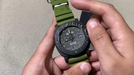 老K谈表:VS厂军绿色沛纳海961评测