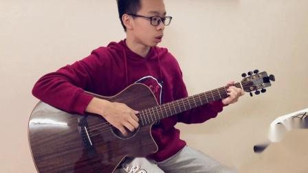 《传奇》张泽烽吉他弹唱