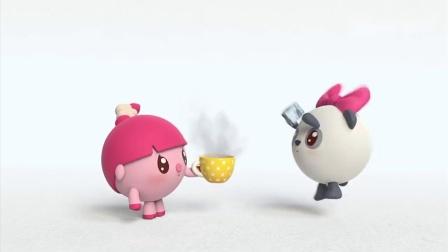 苹果派太热冰激凌太凉,两个混合变成温的,深得宝宝们喜欢