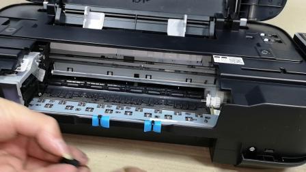 2780打印错位更换管线扣