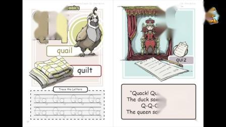 """Book 2B Unit 3: phonics """"Qq and Chant"""""""