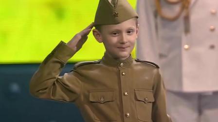 中国女兵与俄罗斯少年合唱 - 喀秋莎