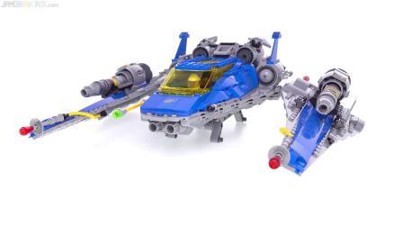 乐高 spaceship for the film LEGO积木砖家速拼