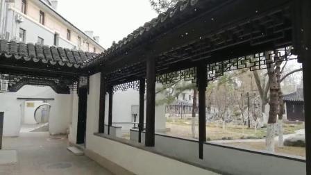 2019年初冬第一场雪北京友谊宾馆即景