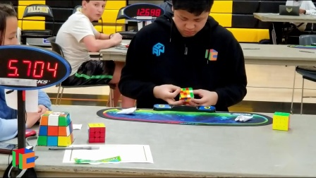 Max Park WR [21.11] Rubik's Cube 4x4 World Record Average  - BASC' 21 2019