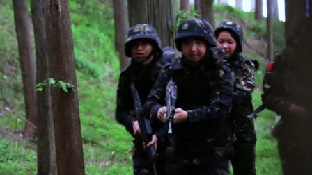 中国少年预备役训练营 特种兵丛林穿越行动