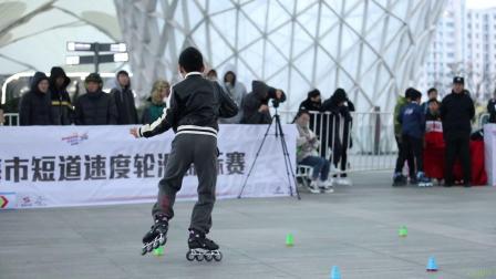 2019 上海城市业余联赛 花式绕桩 少男乙组 2nd 吴双,米高成长中心 轮滑