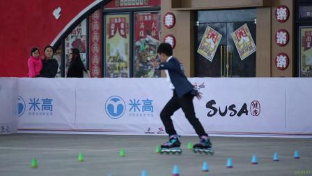 2019 SAG 上海城市业余联赛 花式绕桩 少男乙组 3rd 朱佳炜,速能体育