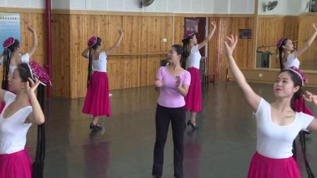 嘉应学院音乐与舞蹈学院—维族舞基础组合训练 课堂教学