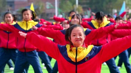 开江县任市初级中学冬季运动会体操比赛视频