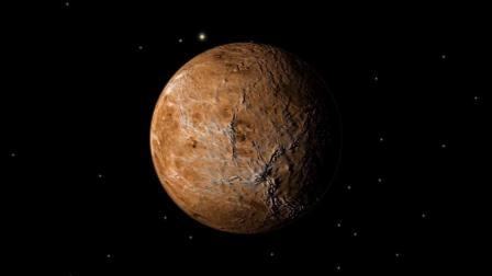 """金星质量与地球类似,是太阳系唯一一颗没有磁场的行星,其表面温度有485 ℃,我国古人称其为""""太白金星""""。"""