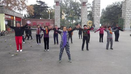 健身缘分广场舞-一颗心一个你