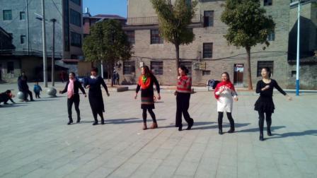 新干青铜广场交谊恰恰舞